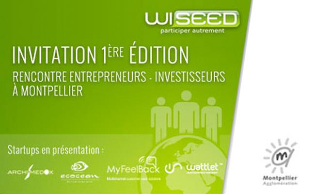 Photo de 1ère édition des rencontres Entrepreneurs-Investisseurs avec WiSEED