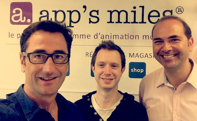 Photo de La start-up du jour: app's miles fidélise les utilisateurs d'applications avec des bons d'achat
