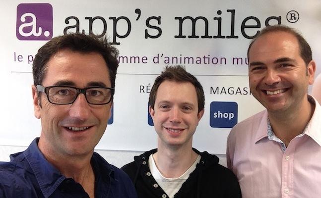 Photo de Les Bordelais d'app's miles lèvent 450 000 euros pour accélérer dans la fidélisation client