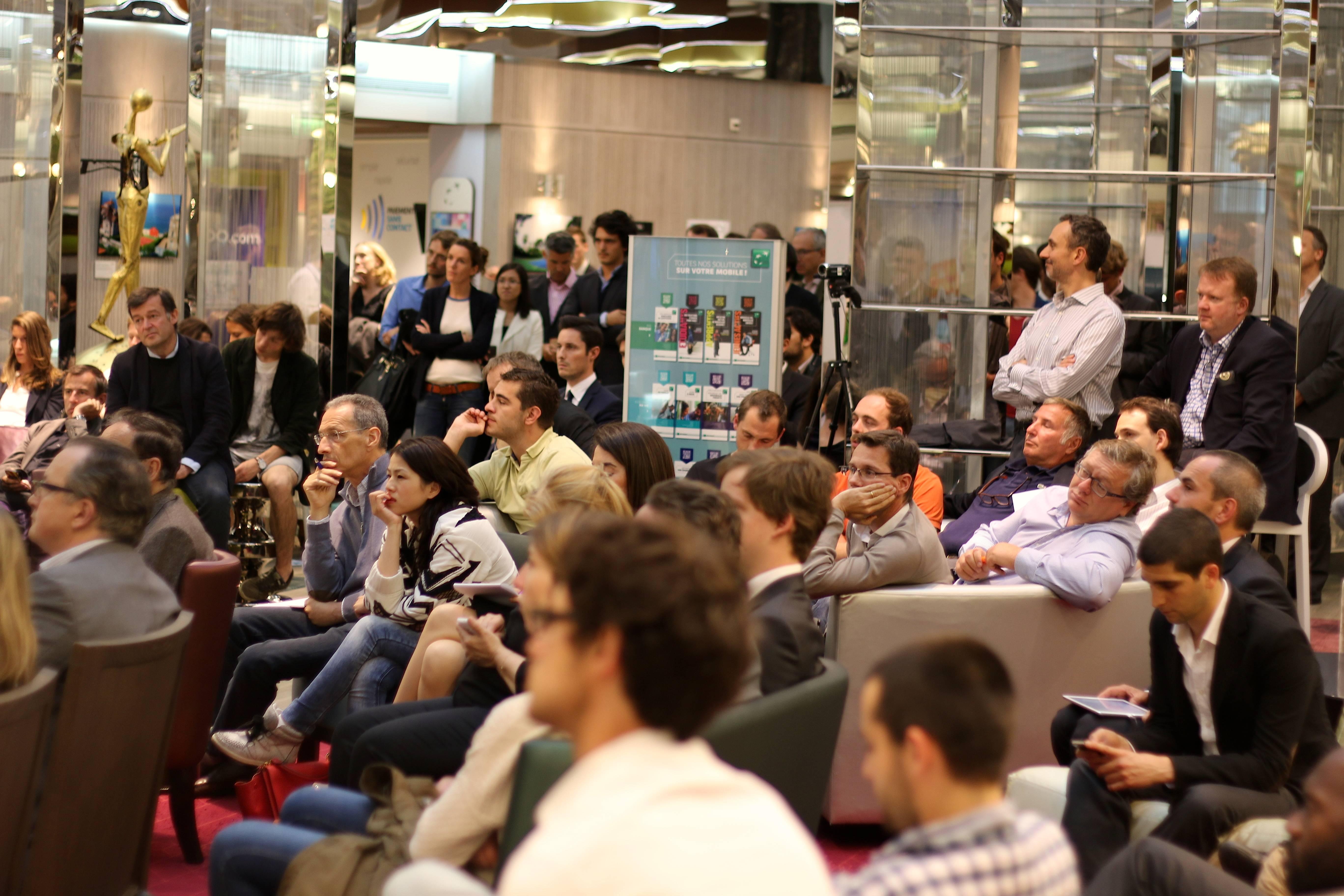 Photo de 8 start-ups, 5 minutes pour convaincre