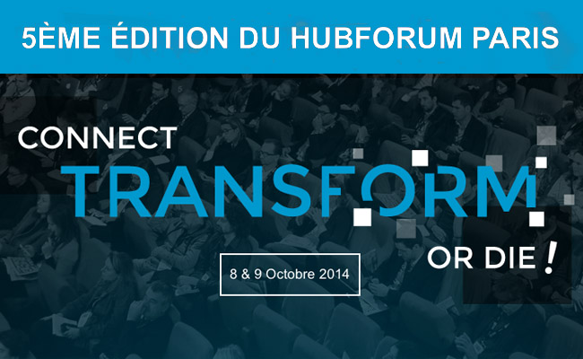 Photo de HUBFORUM Paris 2014, l'évènement qui rassemble les décideurs du monde du digital
