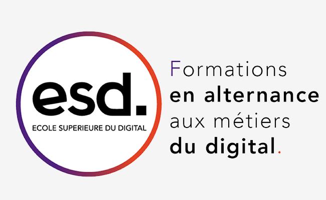 Photo de ESD – Ecole Supérieure du Digital, «une vraie vision stratégique du digital»