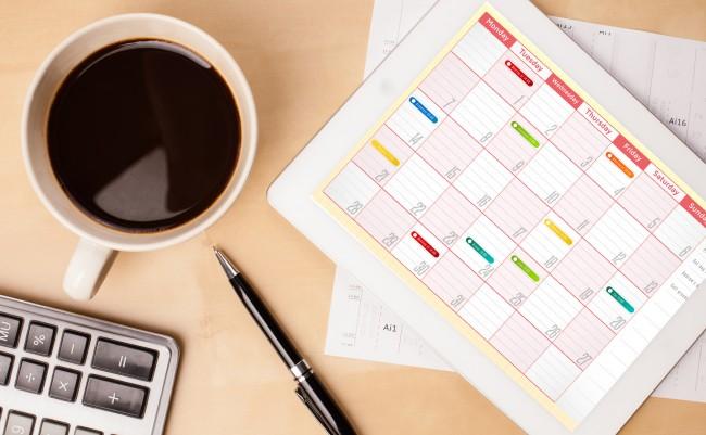 Photo de [Bon App'] Tempo, un calendrier intelligent