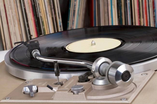 Disque album musique