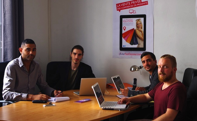 Photo de La startup du jour: AimeTesCommerces, un vente-privee des commerçants indépendants