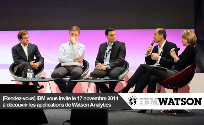 Photo de [Rendez-vous] IBM: Conversez avec vos données en langage naturel avec Watson Analytics