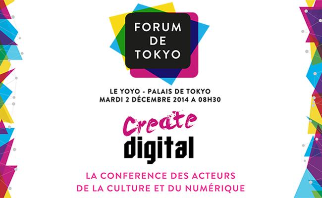 Photo de Forum de Tokyo : la conférence des acteurs de la culture et du numérique