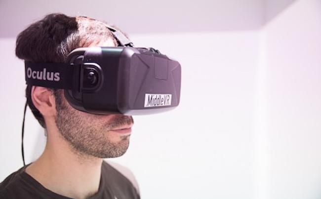 I'm in VR