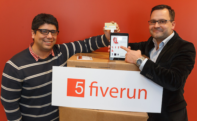 Photo de La start-up du jour: Fiverun digitalise les points de vente grâce au cloud