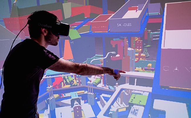 Outil de cube imersif, par la société I'm in VR
