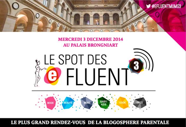Photo de Spot des e-fluent, le plus grand rendez-vous de la blogosphère parentale