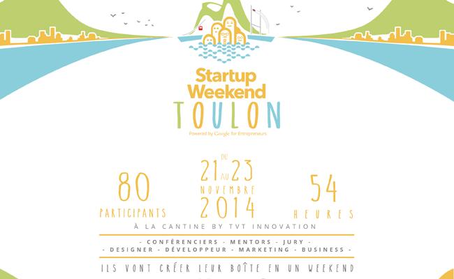 Photo de Startup Weekend Toulon : passez de l'idée à la startup en 54h !