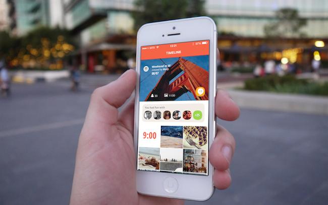 Photo de [Bon app'] Flashgap crée l'album souvenir de vos soirées