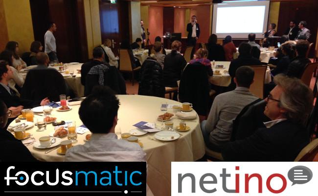 Photo de Focusmatic et Netino vous invitent à échanger autour de la Relation client 2.0