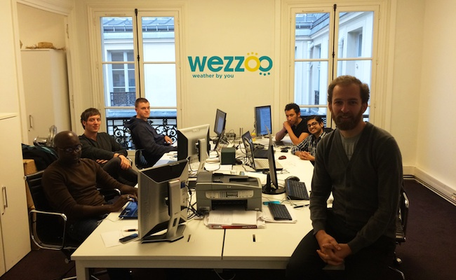 Photo de Wezzoo lève 500 000 euros pour son application de crowdsourcing météo