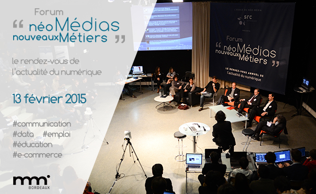 Photo de Forum « Néo-Médias, Nouveaux Métiers »