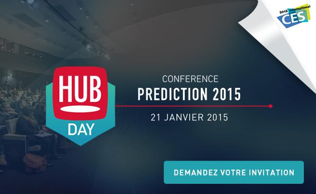 Photo de HUBDAY Prediction, la conférence qui décrypte les prédictions 2015 et au retex du CES2015