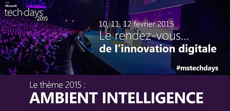 Photo de Les Tech Days de Microsoft 2015