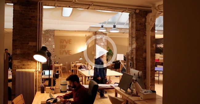 Photo de [Reportage] Descente dans Le Sous-marin de quatre start-up