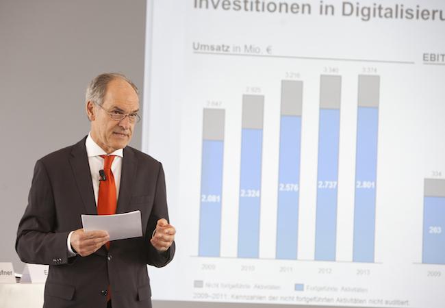 Photo de Axel Springer réalise désormais plus de la moitié de son chiffre d'affaires sur le numérique