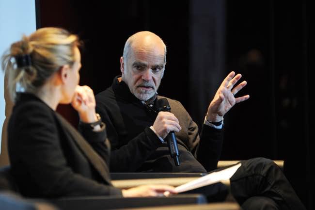Photo de Frédéric Filloux (ex Les Echos): «Il y a une culture de rétribution du risque dans les nouveaux médias»