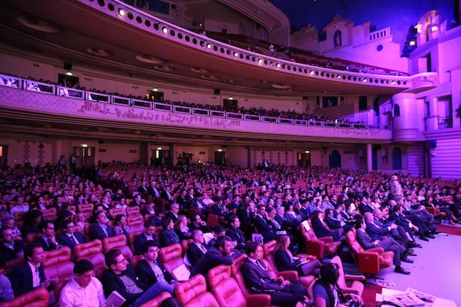 Photo de Emmanuel Macron aux entrepreneurs: «Le pays a besoin que vous preniez des risques»