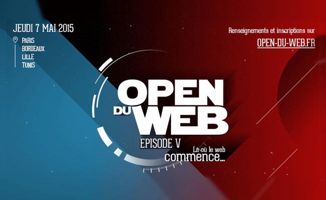 Photo de Open du Web 2015