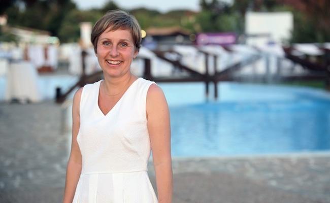 Photo de Ulrike Ristau-Hutter, CDO d'Euromaster Europe: «objectif: 10% de CA lié au digital d'ici 2020»