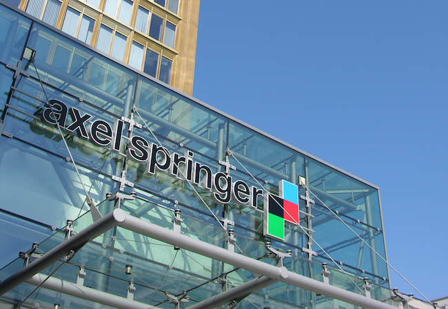 Photo de Axel Springer met la main sur eMarketer pour 242 millions de dollars