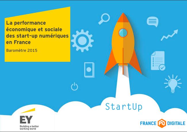 Photo de Startups du numérique: 1,2 milliard d'euros de chiffre d'affaires à l'international