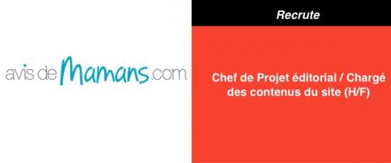 19:10 AvisdeMaman Chef de Projet