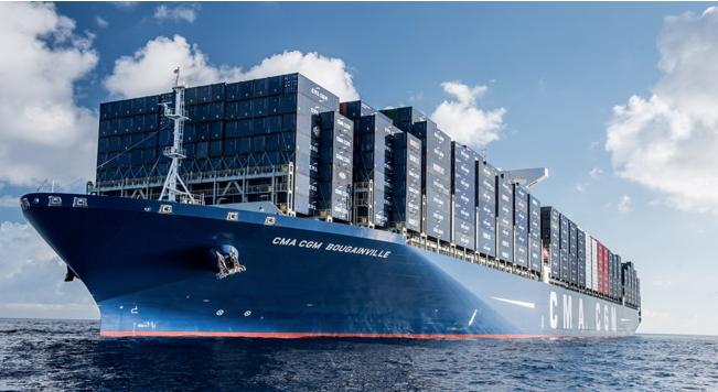 Photo de CMA CGM met le cap sur les conteneurs connectés avec les Marseillais de Traxens