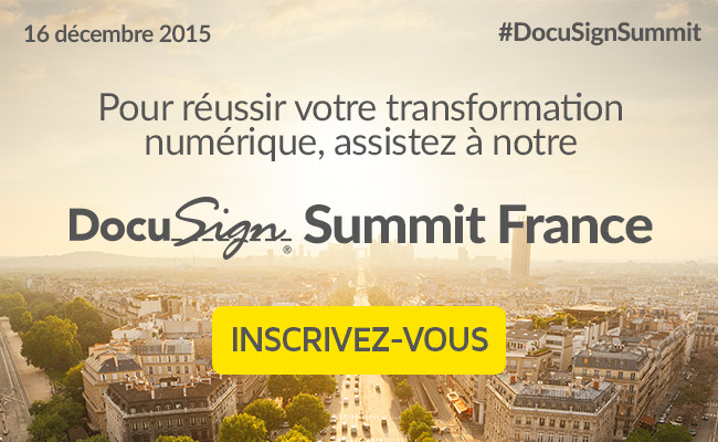 Photo de DocuSign Summit Paris