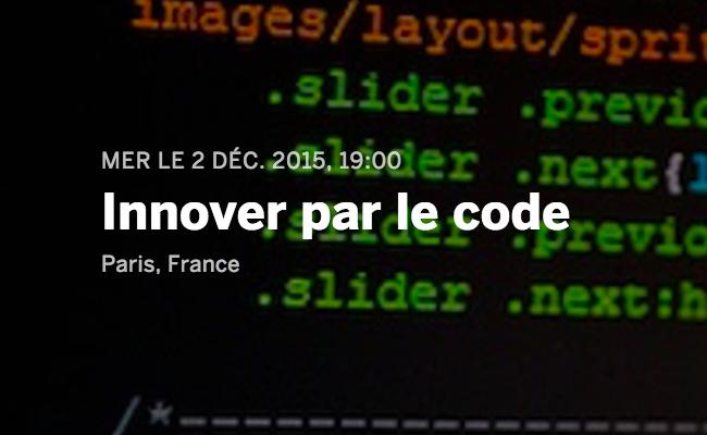 Photo de Innover par le code