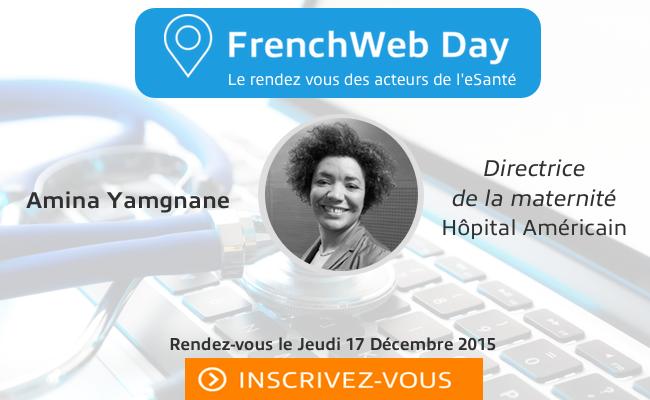 Photo de [FrenchWeb Day eSanté] Qui est Amina Yamgnane?