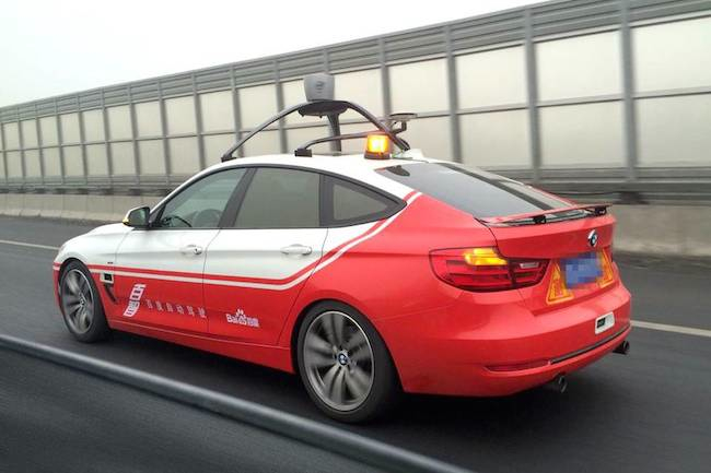 Photo de Baidu embarque ses premiers passagers dans sa voiture autonome en Chine