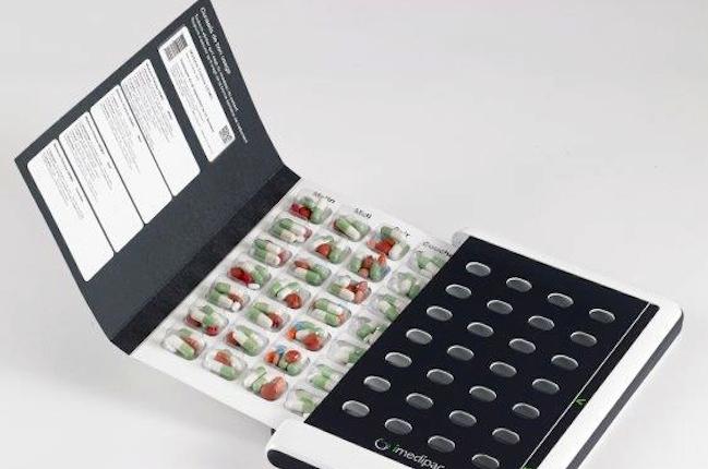pilulier-Une-objets-connecté