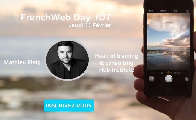 Photo de [Frenchweb Day IoT] Dans la tête de… Mathieu Flaig