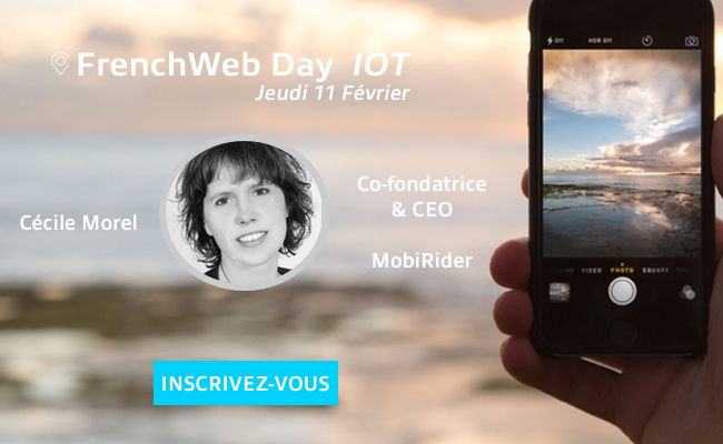 Photo de [Frenchweb Day IoT] Qui est… Cécile Morel?