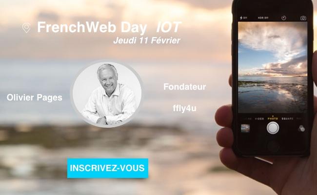 Photo de [Frenchweb Day IoT] Olivier Pages: «Toutes les supply chain sont concernées par l'IoT»