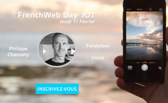 Photo de [Frenchweb Day IoT] Philippe Chassany: «La prochaine étape est la connexion de l'homme!»