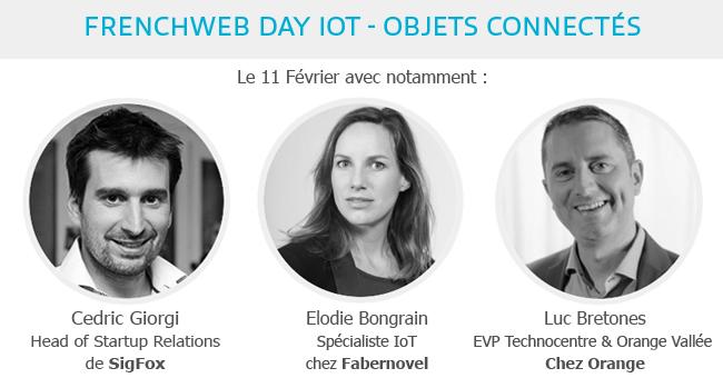 Photo de Frenchweb Day IoT, le rendez-vous des acteurs de l'Internet des objets