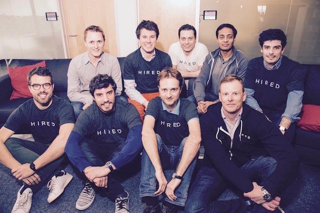 Photo de Hired lève 40 millions de dollars et rachète la start-up française Breaz