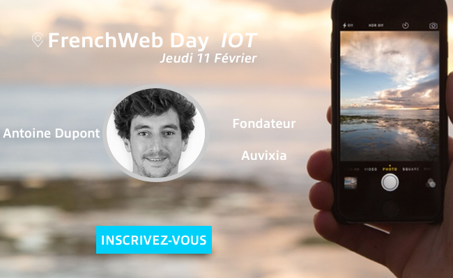 Photo de [Frenchweb Day IoT] Antoine Dupont: «l'innovation n'est pas uniquement technologique mais peut être centrée sur l'usage»