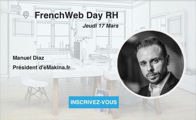 Photo de [Frenchweb Day RH] Manuel Diaz: «L'impact du digital sur la fonction, c'est le passage à l'ère de l'expérience employé»