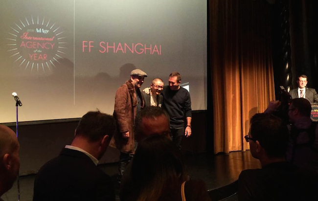 Photo de [INSIDERS] L'agence Fred et Farid Shanghai nommée «International Agency of the Year»…