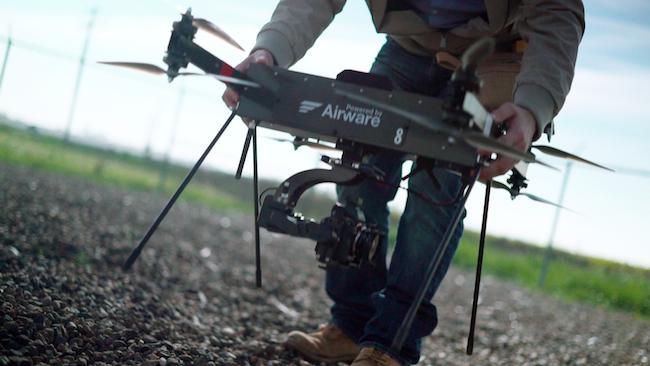 Photo de Airware veut chambouler le monde de l'assurance avec ses drones professionnels