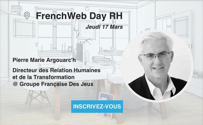 Photo de [Frenchweb Day RH] Pierre-Marie Argouarc'h (La FDJ) «Je suis le prototype duDRH qui a occupé tous les postes dans une direction RH…»
