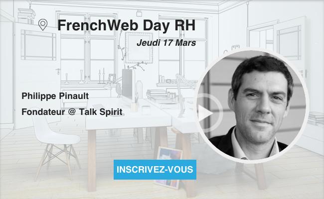 Photo de [Frenchweb Day RH] Philippe Pinault «Le modèle pyramidal cède la place à un système basé sur des rôles et des cercles»