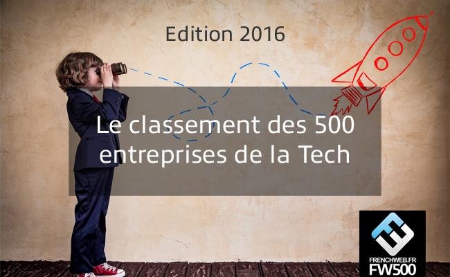Photo de [FW500] Le classement des 500 premières entreprises de la Tech française